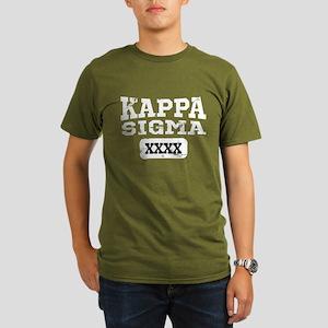 Kappa Sigma Athletic Organic Men's T-Shirt (dark)