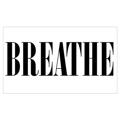 Breathe Canvas Art