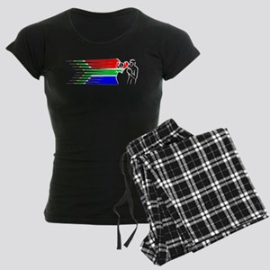 Boxing - South Africa Women's Dark Pajamas