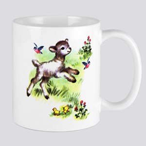 Cute Baby Lamb Sheep Mug