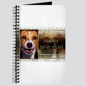 New Year - Golden Elegance - Beagle Journal
