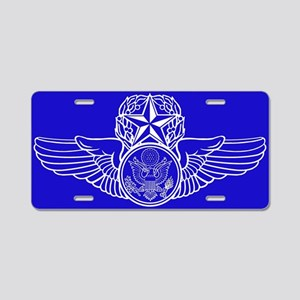 Air Force Master Aircrew Aluminum License Plate