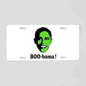 Halloween Boo Obama Aluminum License Plate