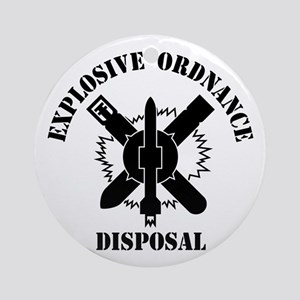 EOD logo Ornament (Round)