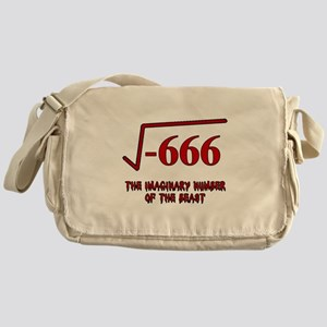 Imaginary Number of the Beast Messenger Bag