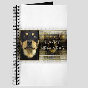 New Year - Golden Elegance - Kelpie Journal