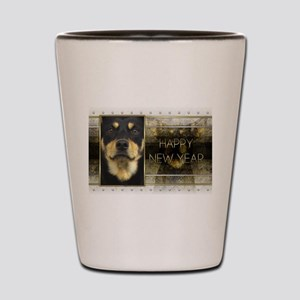 New Year - Golden Elegance - Kelpie Shot Glass