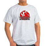 Knoxville Skatepark Round LogoAsh Grey T-Shirt