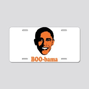 Halloween Boo Bama Aluminum License Plate