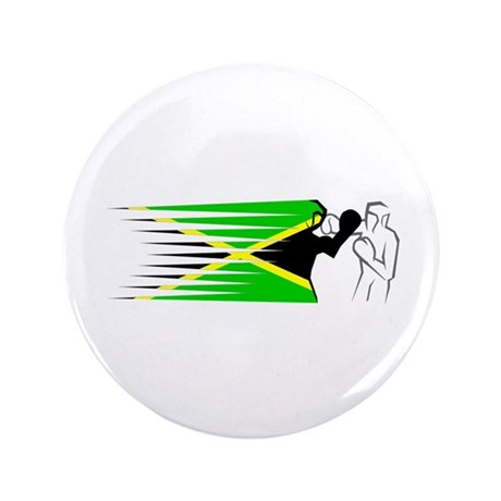 "Boxing - Jamaica 3.5"" Button (100 pack)"