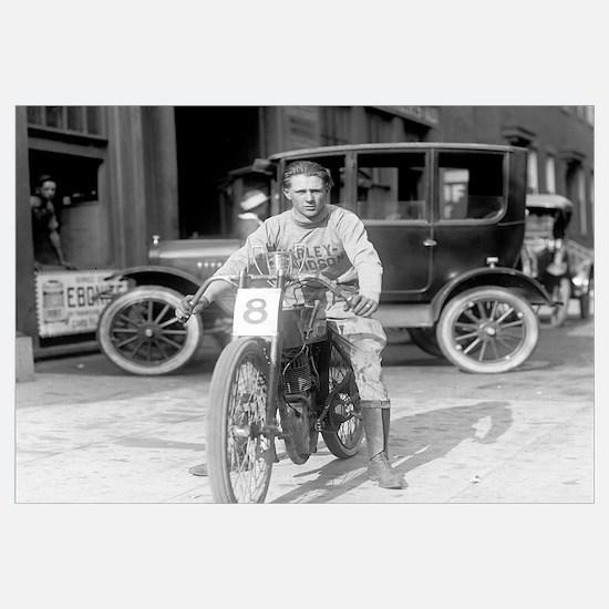 Harley-Davidson Motorcycle Racer, 1922
