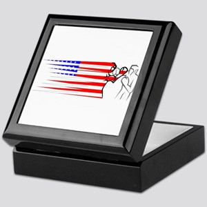 Boxing - USA Keepsake Box