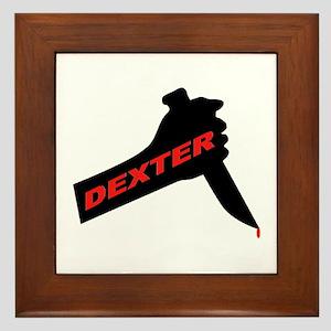Dexter new season Framed Tile