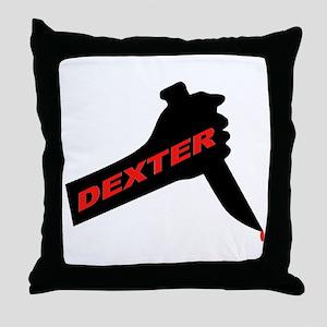 Dexter new season Throw Pillow