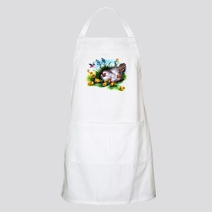 Mother Hen Yellow Chicks Apron