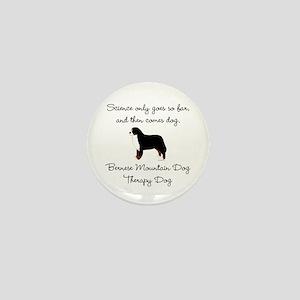 Bernese Therapy Dog Mini Button