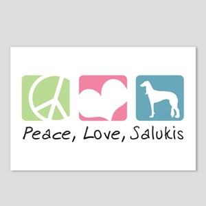 Peace, Love, Salukis Postcards (Package of 8)