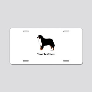Berner - Your Text Aluminum License Plate