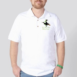 It's Not Easy Being Green Golf Shirt