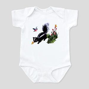 Cute Baby Skunk Infant Bodysuit