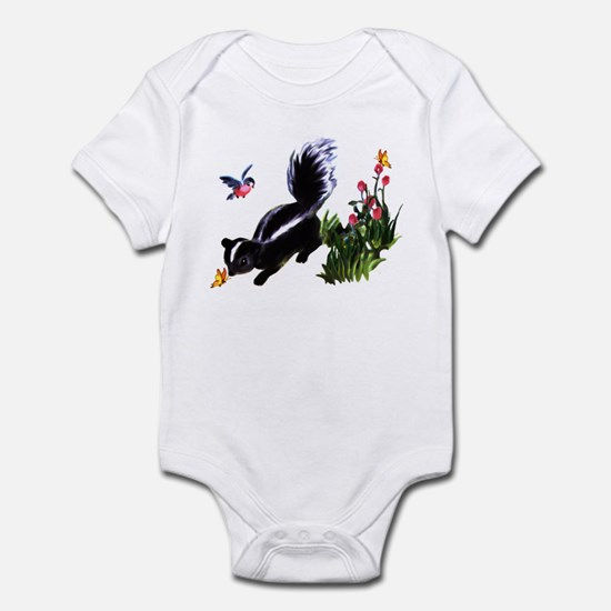 Cute Baby Skunk Infant Bodysuit