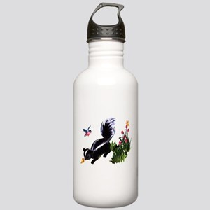 Cute Baby Skunk Stainless Water Bottle 1.0L