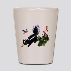 Cute Baby Skunk Shot Glass