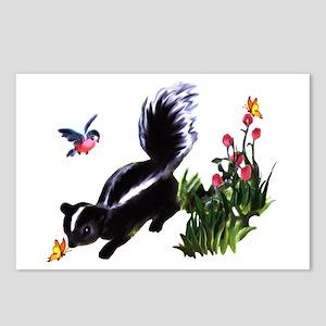 Cute Baby Skunk Postcards (Package of 8)