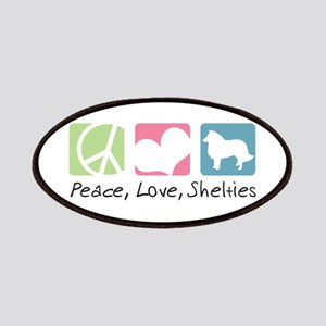 Peace, Love, Shelties Patches