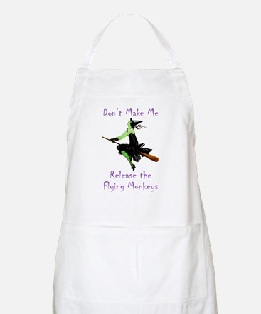 Don't Make Me Release The Flying Monkeys Apron