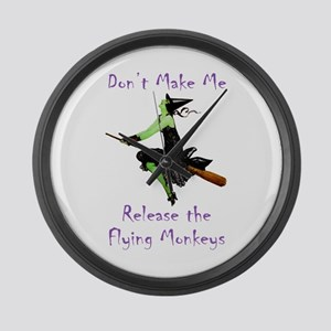 Don't Make Me Release The Flying Monkeys Large Wal