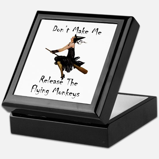 Don't Make Me Release The Flying Monk Keepsake Box