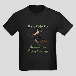 Don't Make Me Release The Flying Kids Dark T-Shirt