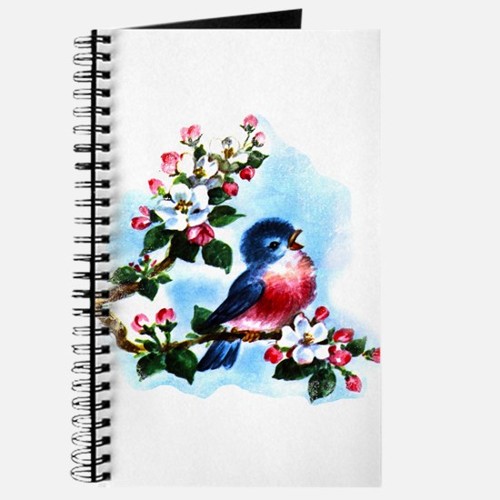 Vintage Bluebird Art Journal