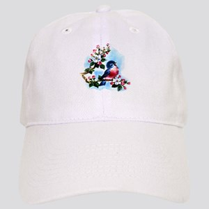 Vintage Bluebird Art Cap