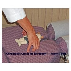 Chiropractor & Huggy T. Bear: Poster