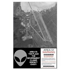 """""""Area 51"""" Poster"""