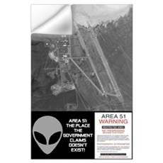 """Area 51"" Wall Decal"