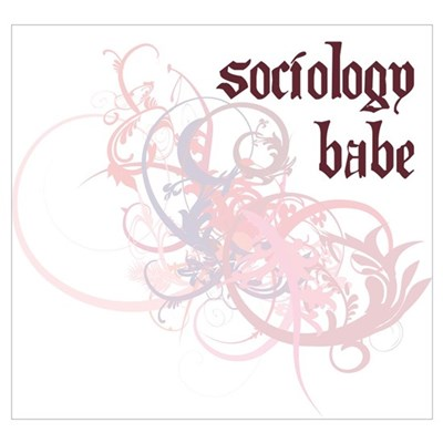 Sociology Babe Poster