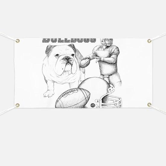 Bulldog Collage Banner