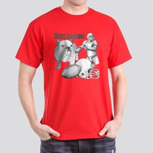 Bulldog Collage Dark T-Shirt