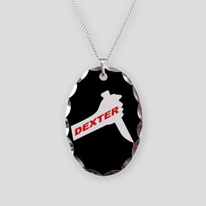 Dexter new season Necklace Oval Charm