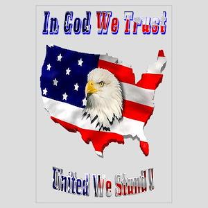 In God We trust United We Sta