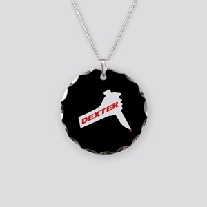 Dexter new season Necklace Circle Charm