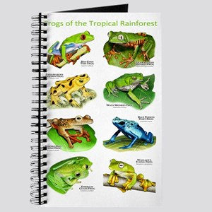 Frogs of the Tropical Rainforests Journal