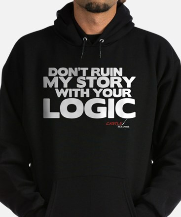 My Story... Your Logic Dark Hoodie