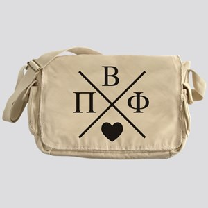 Pi Beta Phi Cross Messenger Bag