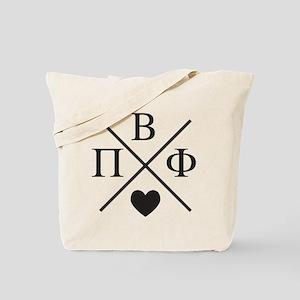 Pi Beta Phi Cross Tote Bag