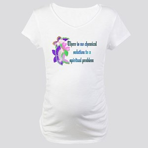 No Chemical Solution Maternity T-Shirt