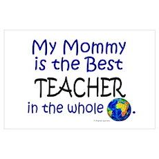 Best Teacher In The World (Mommy) ri Poster